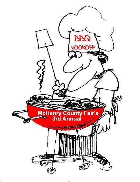 McHenry County Fair BBQ 3rd Annual Cook off with great prizes!