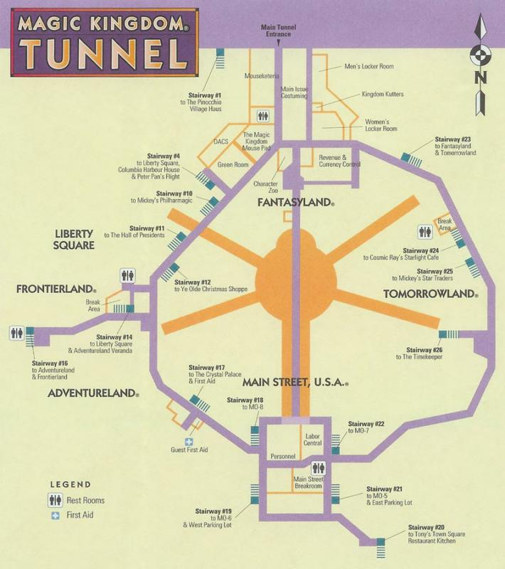 mk tunnel map