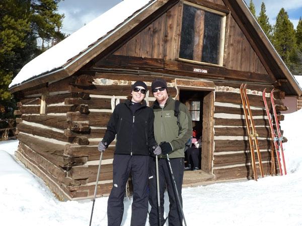 cabin churchill front woods in log breckenridge cabins vrbo door the