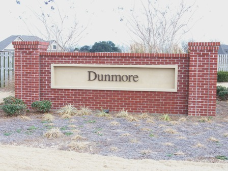 Dunmore Subdivision fronts Highway 181 in Daphne
