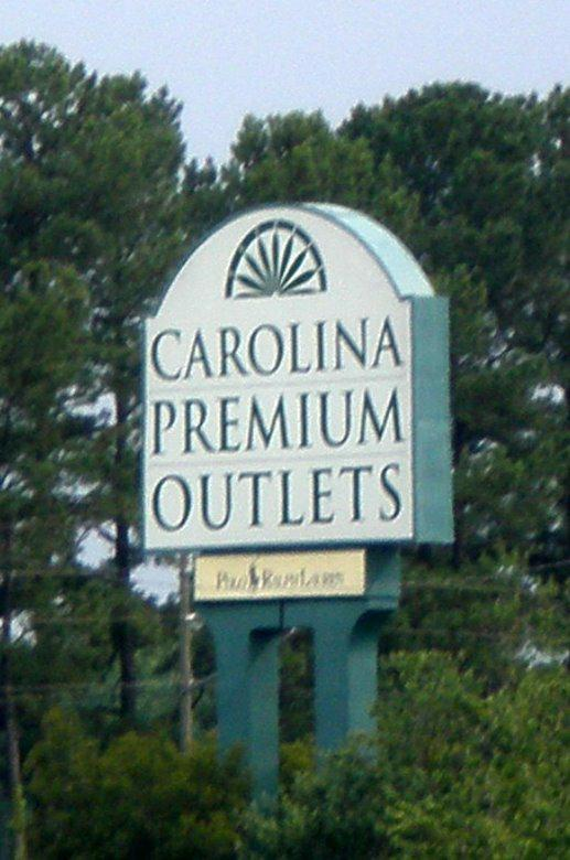 Raleigh Outlet Malls - Carolina Premium Outlets in Smithfield - Raleigh Relocation Package