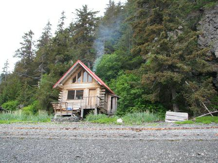 Alaskan Wilderness Cabin in Sadie Cove