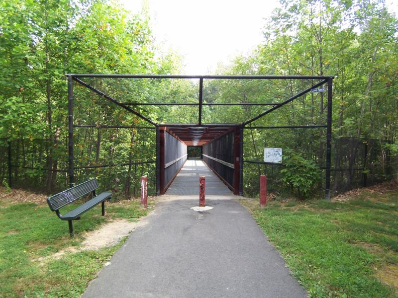 Accotink Park Entrance off Carrleigh Parkway