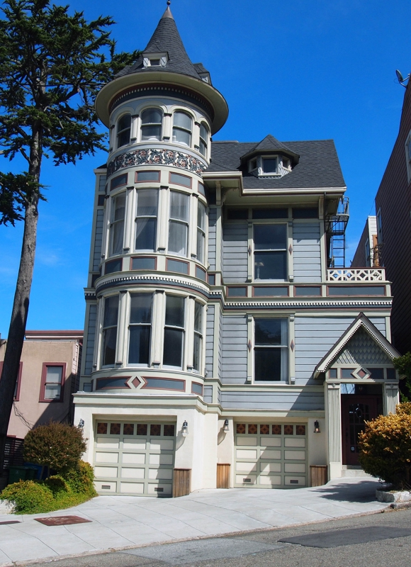 Frank Castaldini presents Victorian Mansion on Buena Vista East in San Francisco