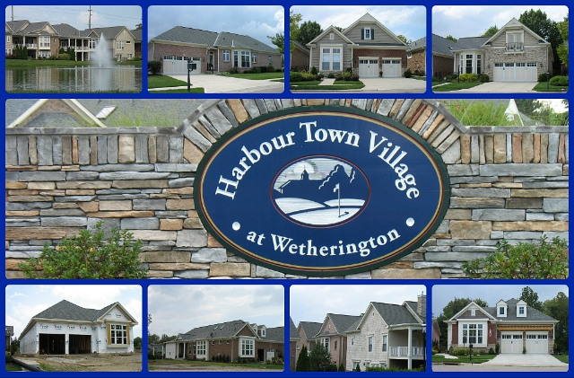 Harbour Town courtyard home community of West Chester Ohio