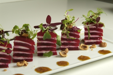 Wolfgang Puck's Beet Salad with Goat Cheese