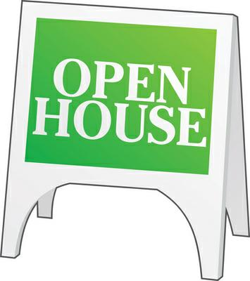 open house to sell your house
