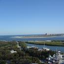 Ponce Inlet Waterway Aerial View