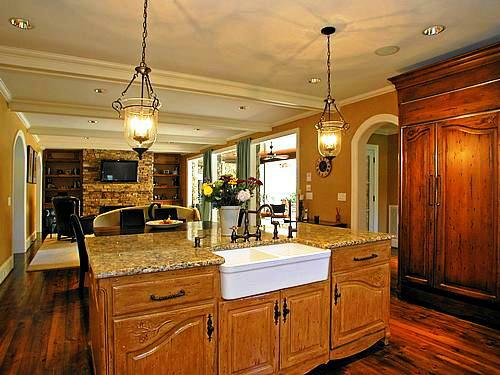 What's hot?  Kitchens and Open Spaces