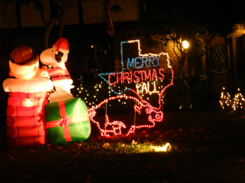 Your Kids Will Love The Christmas Lights In Prestonwood