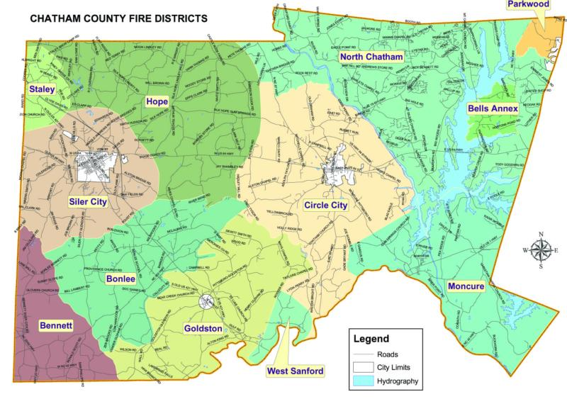 Chatham County Fire Districts - Chatham County Property Tax