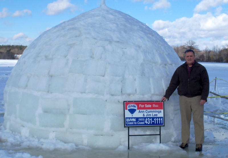 Igloo for sale in historic Exeter, NH