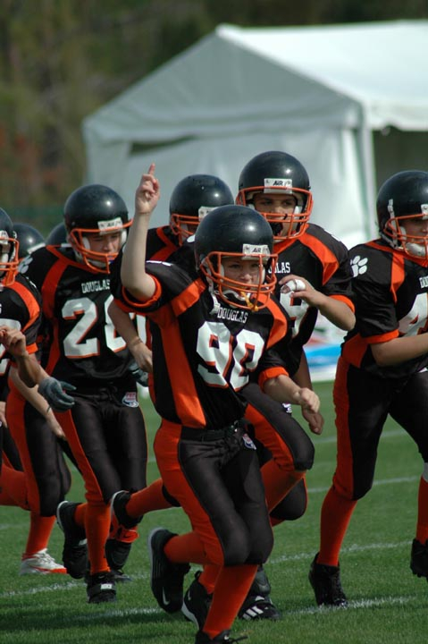 Douglas Pop Warner football and cheer