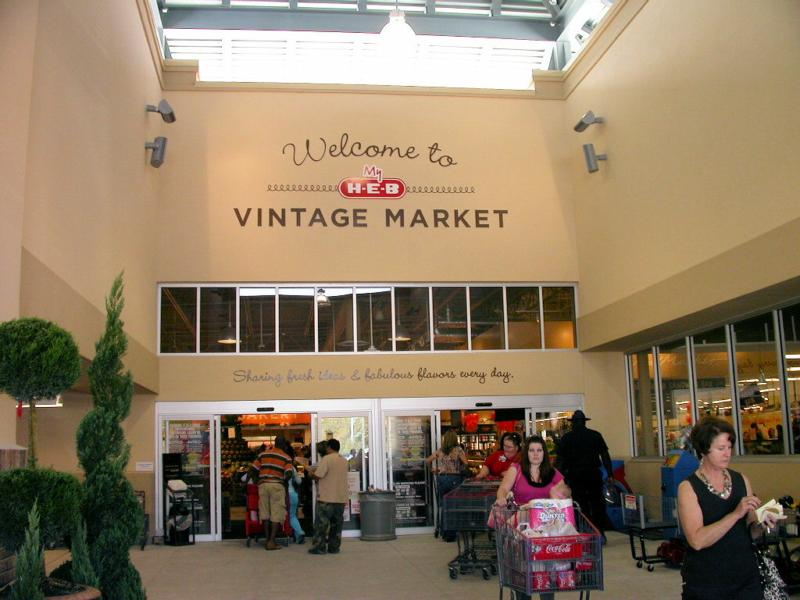 HEB Vintage Market in Northwest Houston
