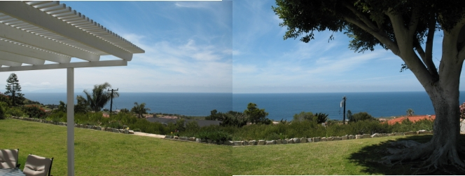 View from home above PVDS Rancho Palos Verdes