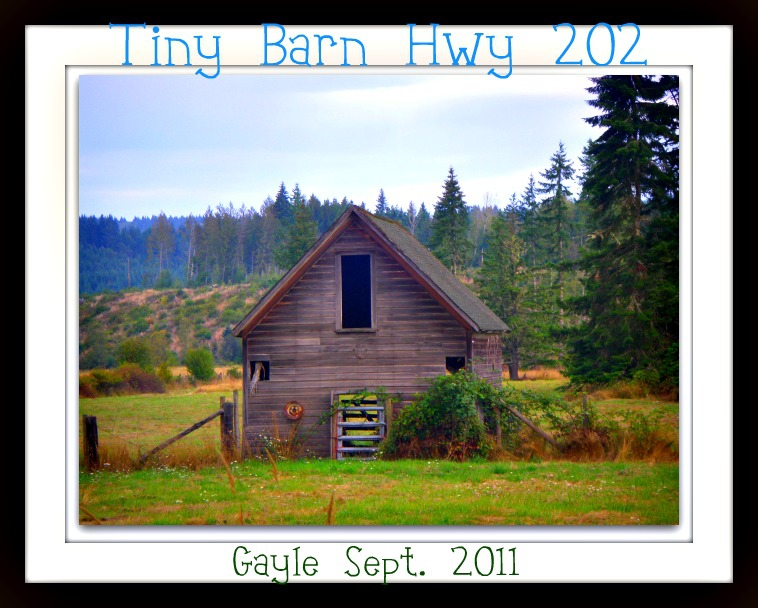 Tiny Barn on Highway 47