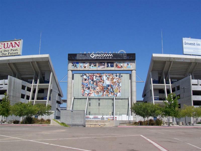 Qualcomm Stadium, Mission Valley, San Diego, California