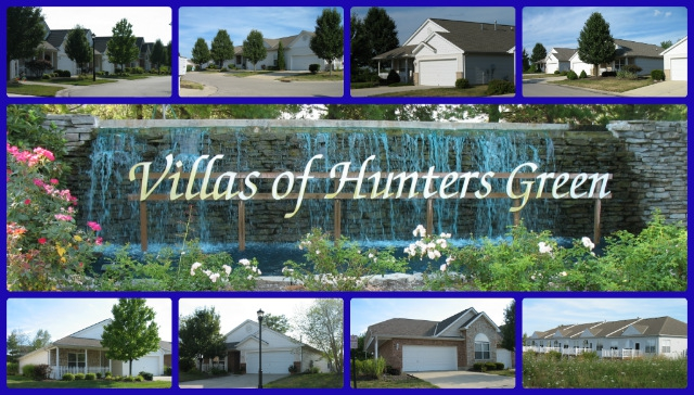 Villas of Hunters Green patio home community of Mason Ohio 45040