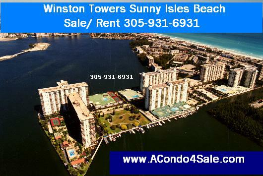 Winston Towers Sale/Rent 305-931-6931