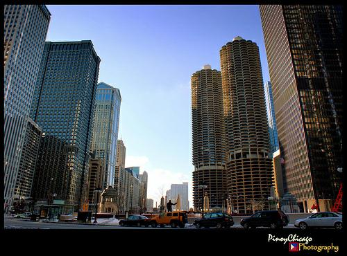 THE Chicago Marina area........what a sight.....