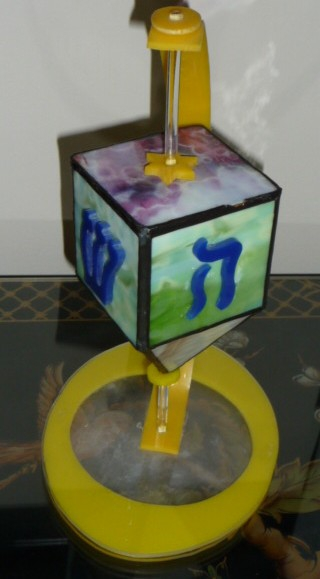 Handmade Dreidel HomeRome 410-530-2400