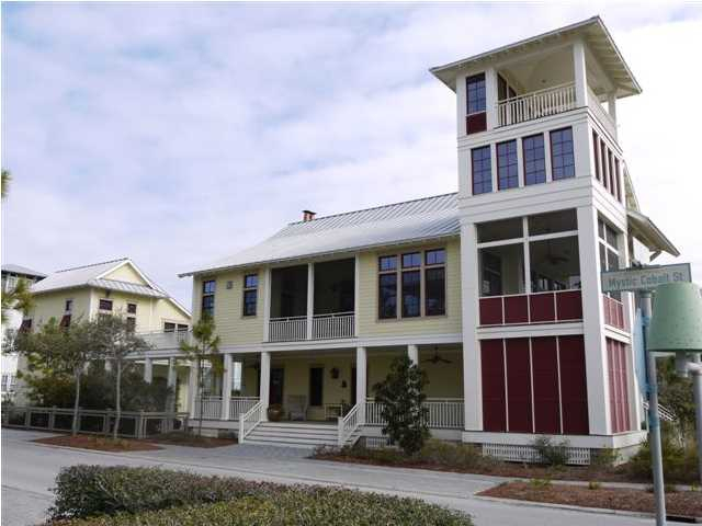Just Listed Watercolor Florida Gulf View Home