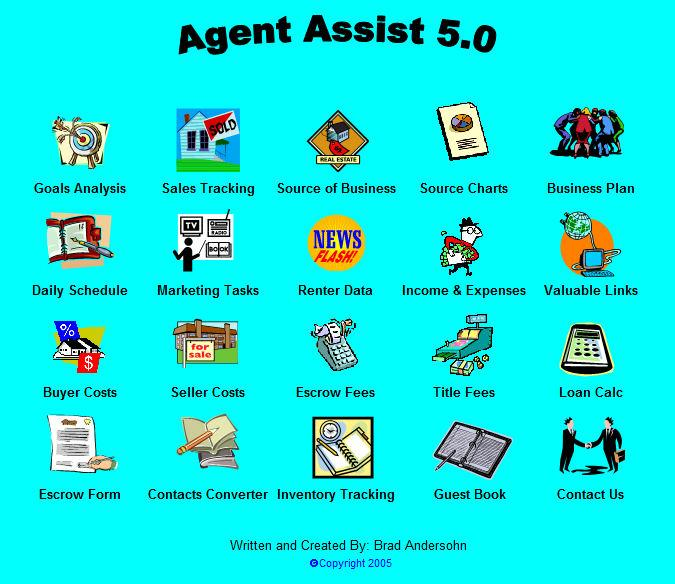 Agent Assist Main Menu