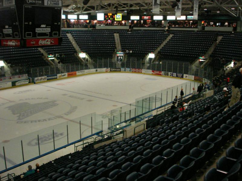 Germain Arena Estero Florida Florida Everblades