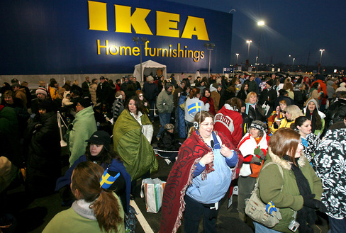 Ikea advice our cincinnati grand opening is today for Ikea in west chester ohio