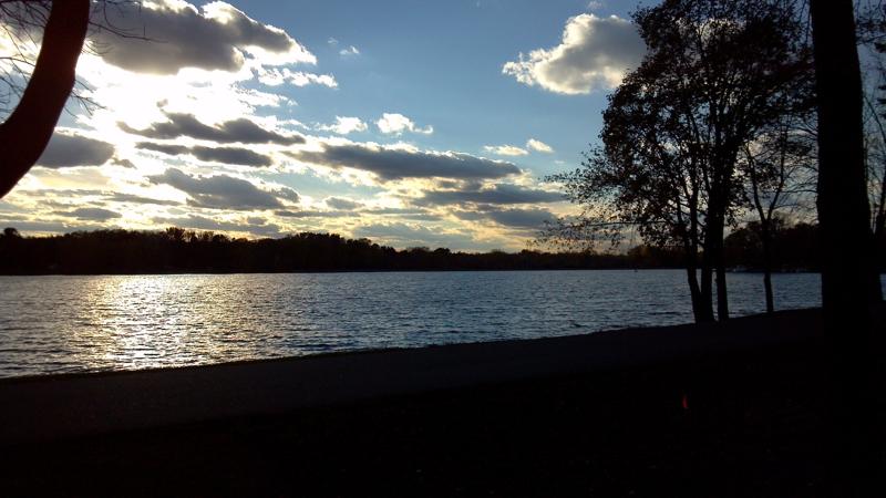Riverview park, downtown Stevens Point
