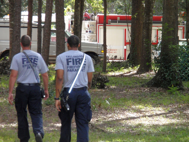 Firemen in Tallahassee Leon County Florida