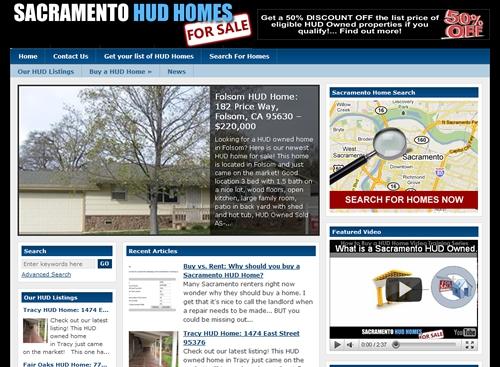 Sacramento HUD Homes: Get your list of HUD homes for sale