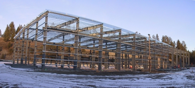 Progress on ne Ground Force Mfg. Builing Dec 2011