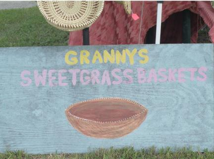 Granny's Sweet Grass Baskets Sing