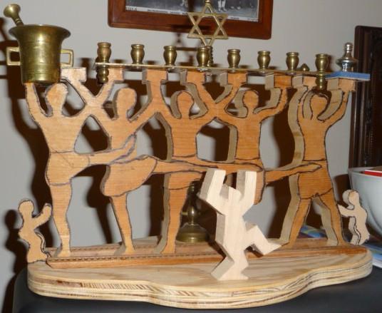 Handmade Menorah HomeRome 410-530-2400