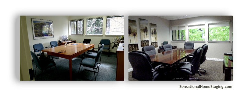 Conference Room Before & After
