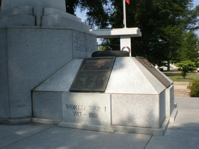 WWII Memorial Downtown Raleigh - North Carolina Veterans Monument - Downtown Raleigh Walking Tour - Raleigh Relocation Package