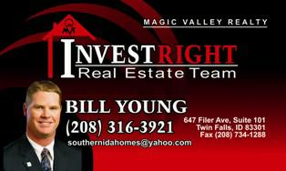 Bill Young, Real Estate Agent