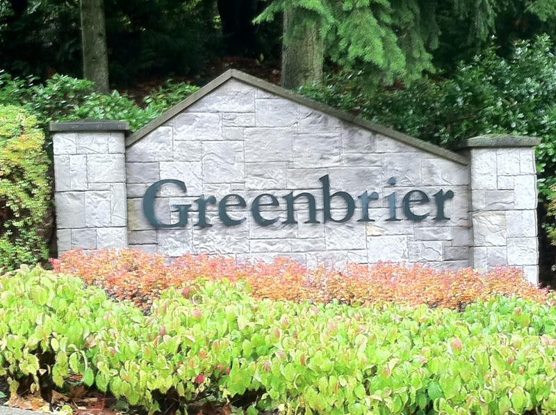 Greenbrier community in Redmond