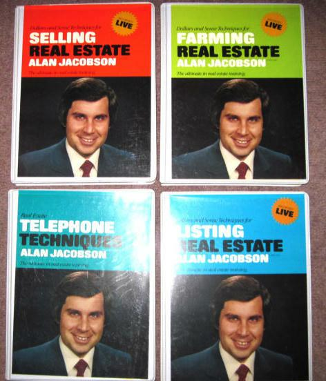 first ever active rain garage sale buy this 3 volume set of Alan Jasconbon sales training aids for a bargain price.