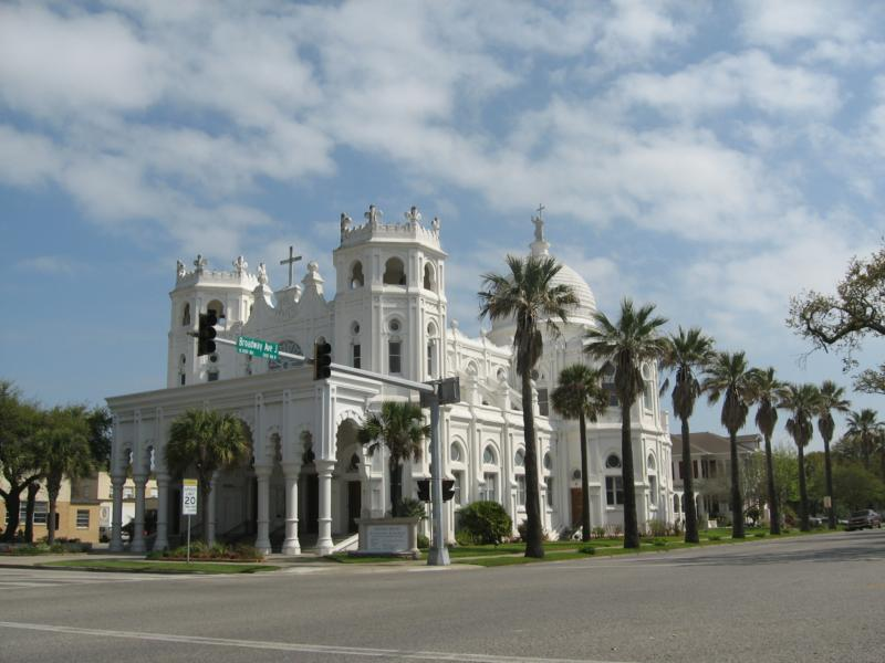 Sacred Heart Church in Galveston, Texas