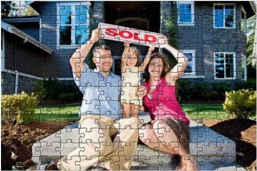 Happy Family Sold Puzzle Albuquerque Homes Realty
