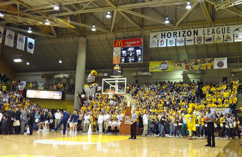 Valparaiso Fan Zone - Student Section