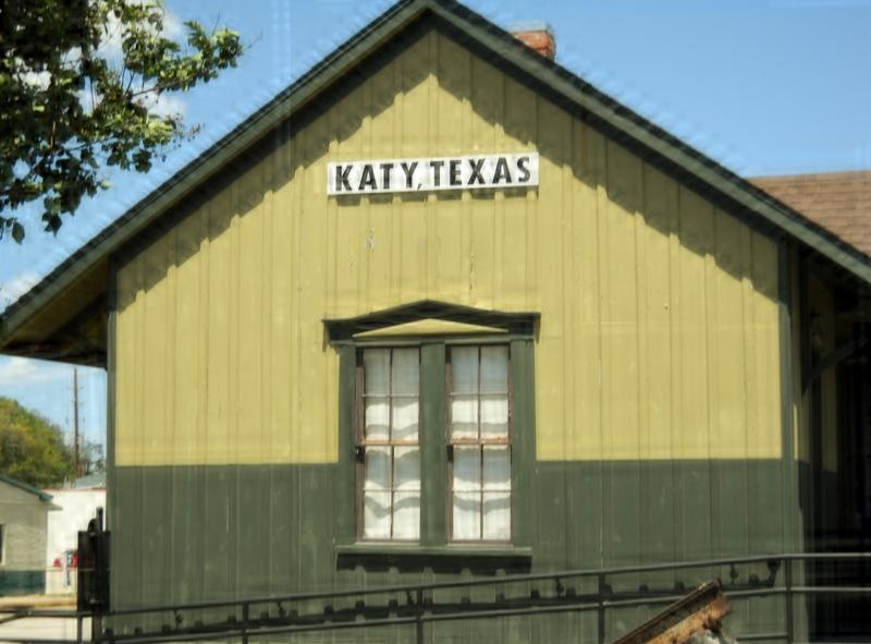 Train Station Old Katy Texas