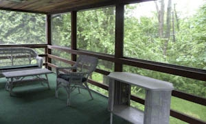 Ivymount screened porch