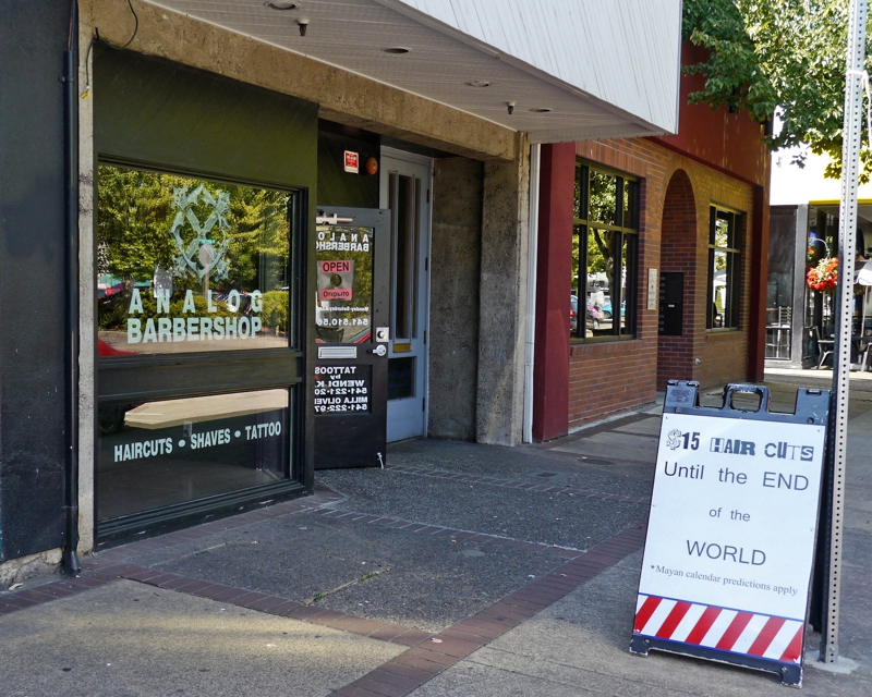 Get 15 Haircuts Until The End Of The World In Downtown Eugene Oregon
