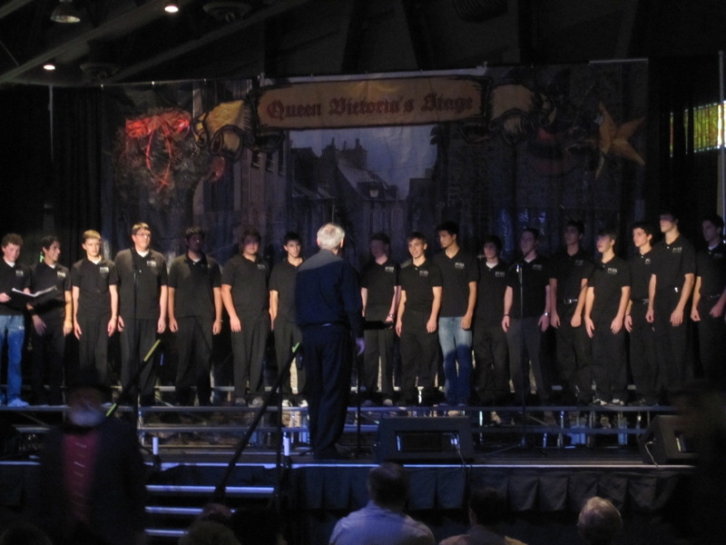 Pine View High School Mens Choir-Dickens Festival