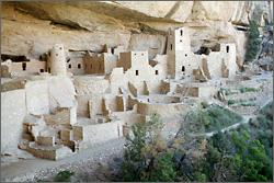 Anasazi cliff dwellings as early passive solar design