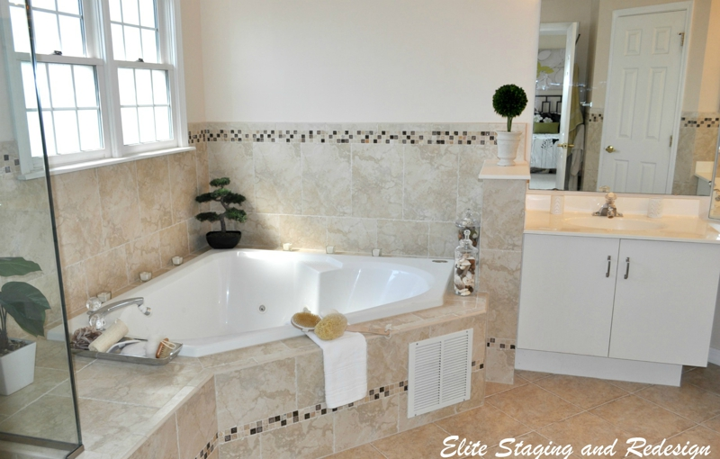 bathroom staging ideas bathroom staging with spa appeal before after photos 10550