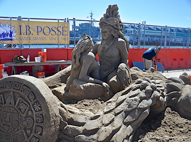 US Sand Sculpture Competition